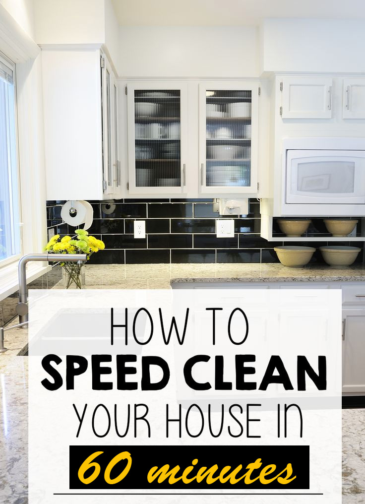 Speed Cleaning Your Home In 60 Minutes Commercial