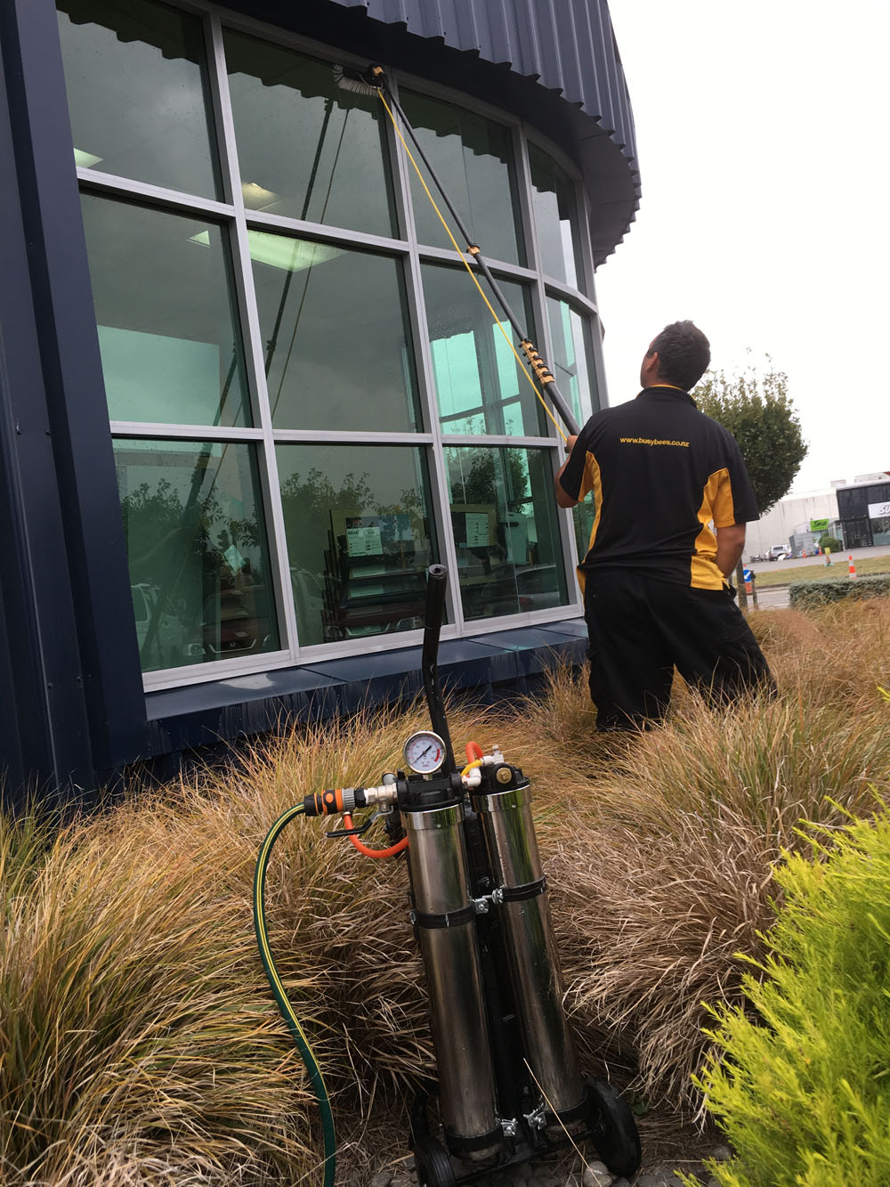 Christchurch Window Cleaning Commercial Cleaners Home